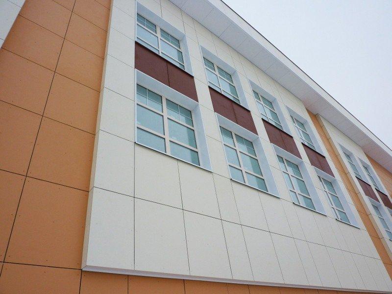 Фасадные панели Криплат на основе ФЦП
